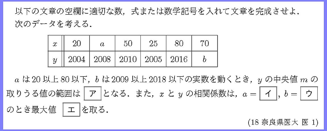 18奈良県医大・医1