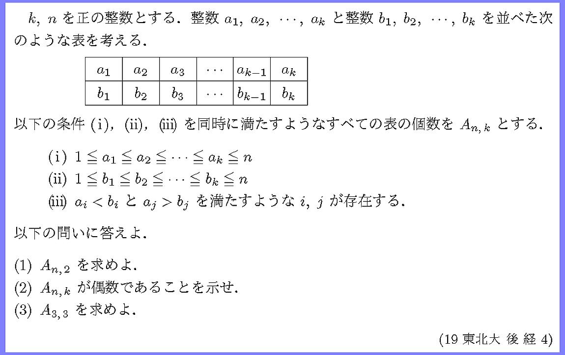 19東北大・後経4