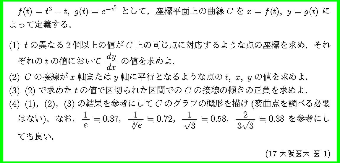 17大阪医大・医1