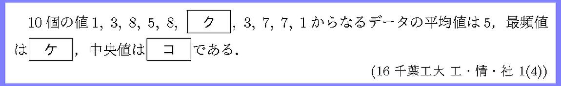 16千葉工大・工・情・社1-4